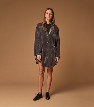 VELUR LONG SHIRT