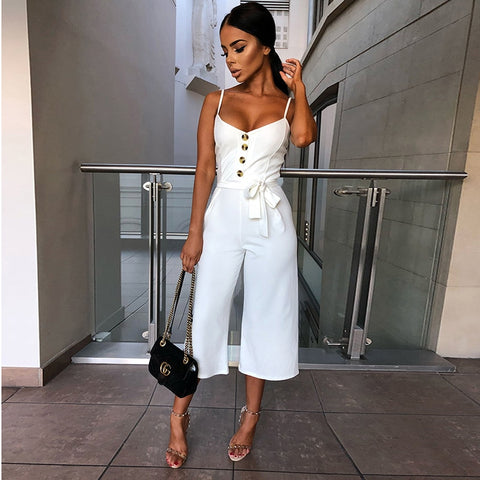 Womannewstyle Backless Sexy Romper