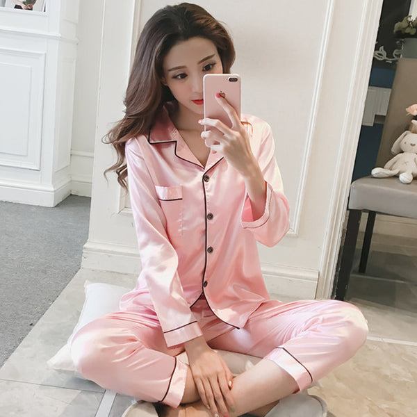 Womannewstyle 2020 Women Suit Long sleeve Large Size Pijama
