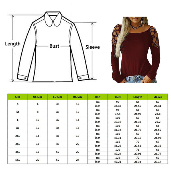 Womannewstyle Long Sleeve Blouse