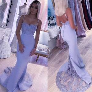 Womannewstyle Backless Mermaid Bridesmaid Dress