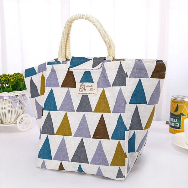 Womannewstyle Fresh Insulated Women Lunch Bag