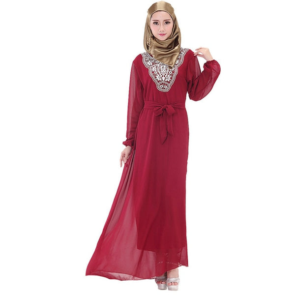 Womannewstyle 2020 fashion Muslim Long Maxi Dress