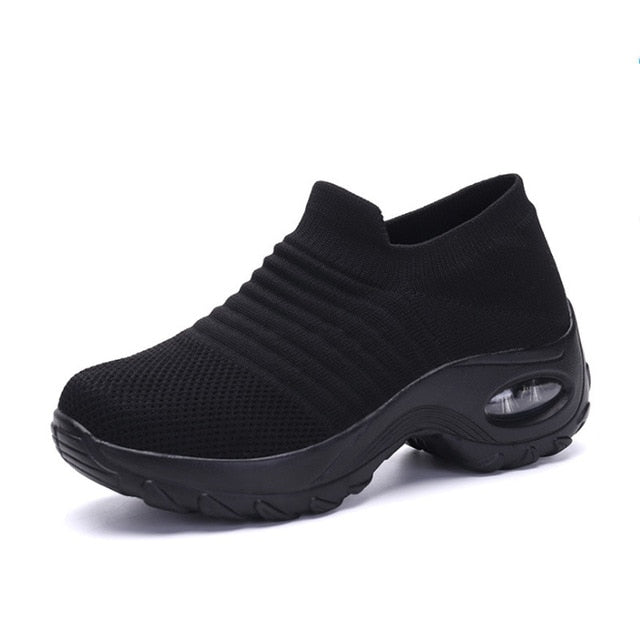 Womannewstyle hot sale Women's Walking Shoes Sock Sneakers 2020