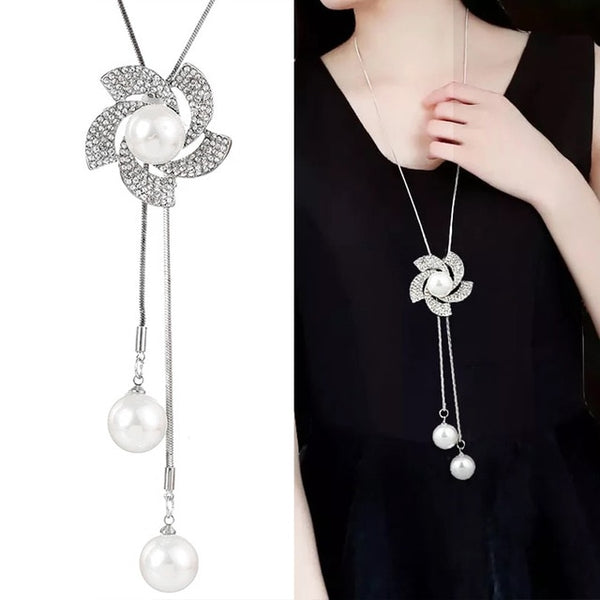 Womannewstyle New Choker Flower Women Necklaces