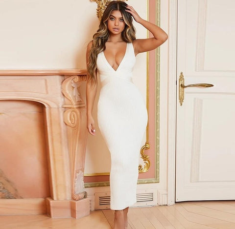 Maxi Summer Bandage Dress