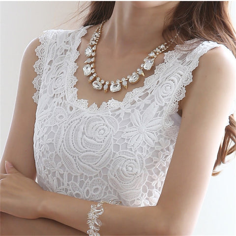 Elegant Women Lace blouse