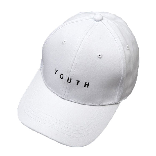 Womannewstyle Embroidery Baseball Cap Youth Letters Baseball Cap