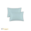 Luxry Quality Plain Dyed Oxford Duck Egg Pillow Cases Pair