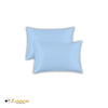 Luxry Quality Plain Dyed Oxford Sky Blue Pillow Cases Pair