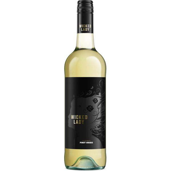 Wicked Lady Pinot Grigio, California, 75cl
