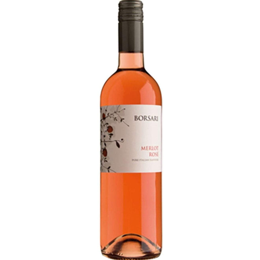 Borsari Merlot Rose, 75cl