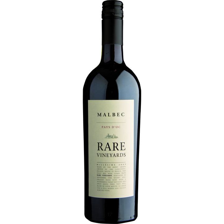 Rare Vineyards Malbec, 75cl