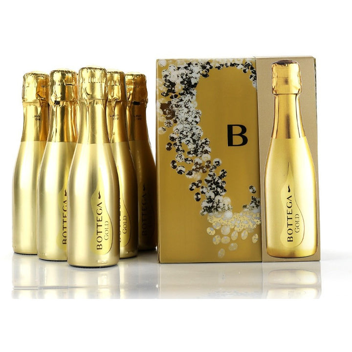 Bottega Gold Prosecco 6 x 20cl Gift Pack