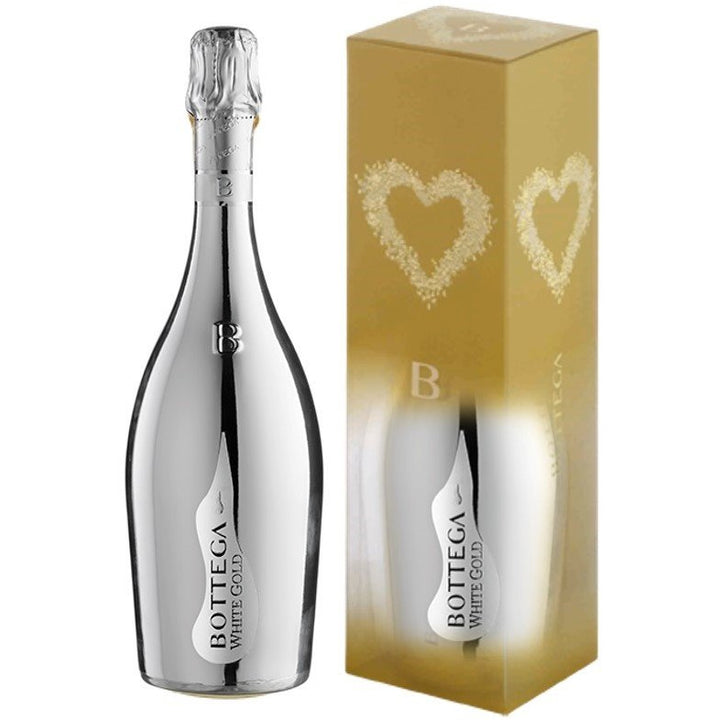 Bottega White Gold Prosecco 75cl In Gift Box