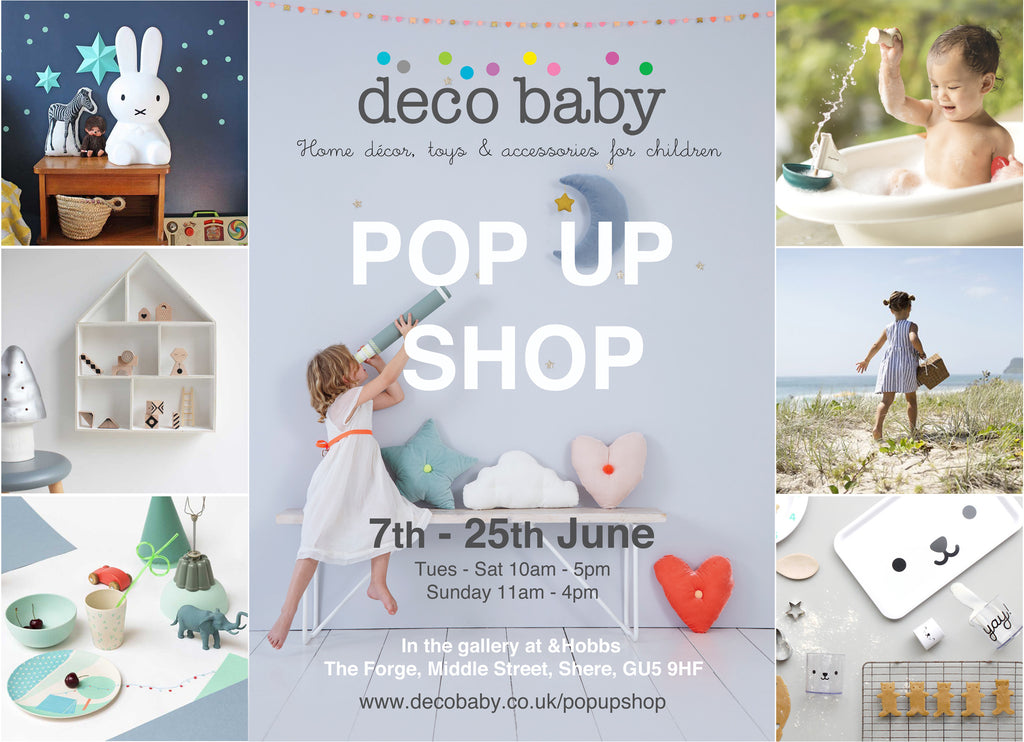 Deco Baby pop up shop