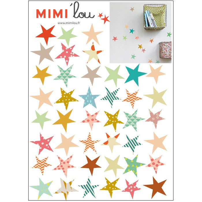 Mimi'Lou Stars Wall Stickers
