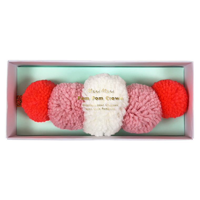 Meri Meri Pom Pom Party Crown