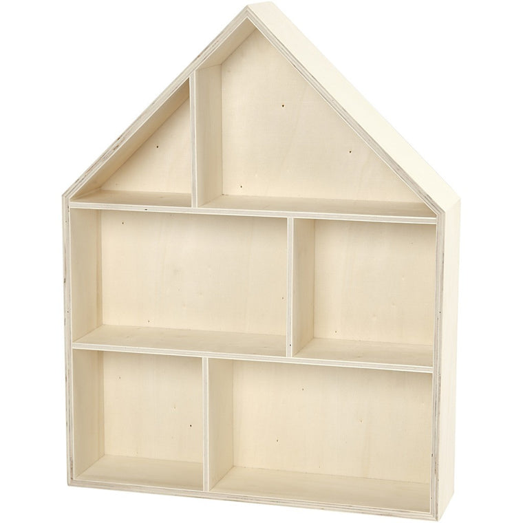 Deco Baby Danish House Plywood Shelf