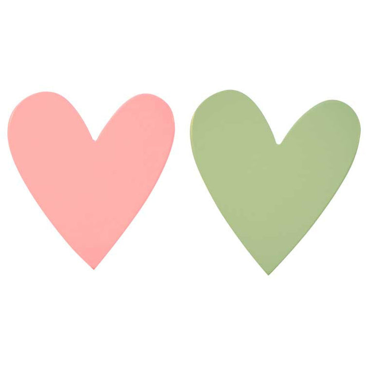 Little Lovely Company Pastel Heart Hooks