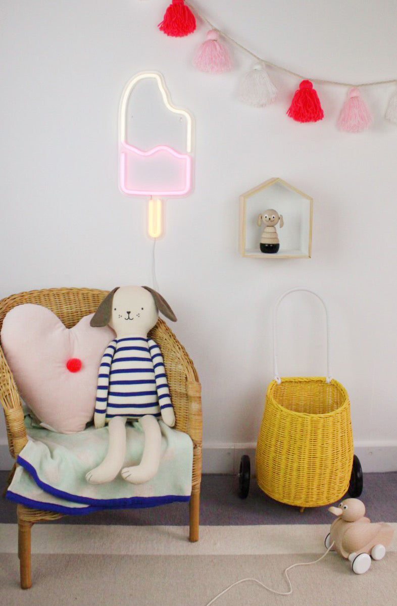 Gingersnap Ice Lolly Neon Light - Deco Baby