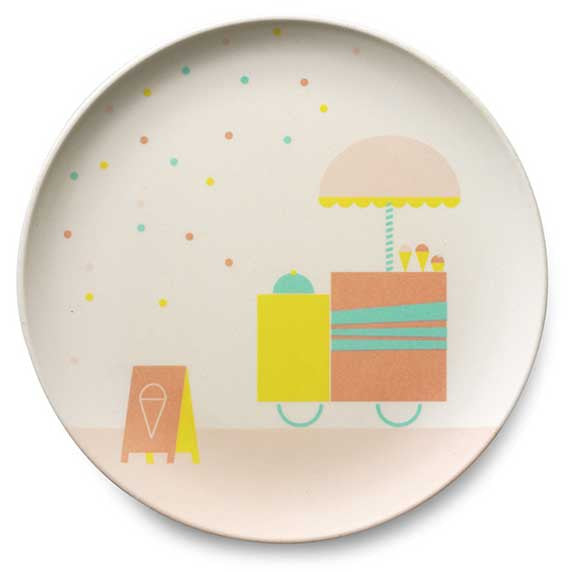Engel Bamboo Tableware - Ice Cream