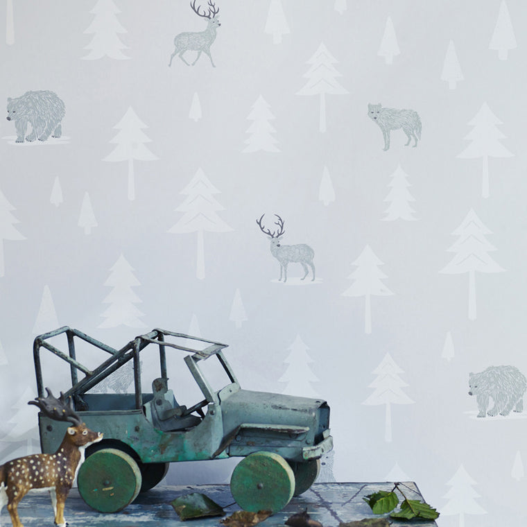 Hibou Home Into The Wild wallpaper - more colours