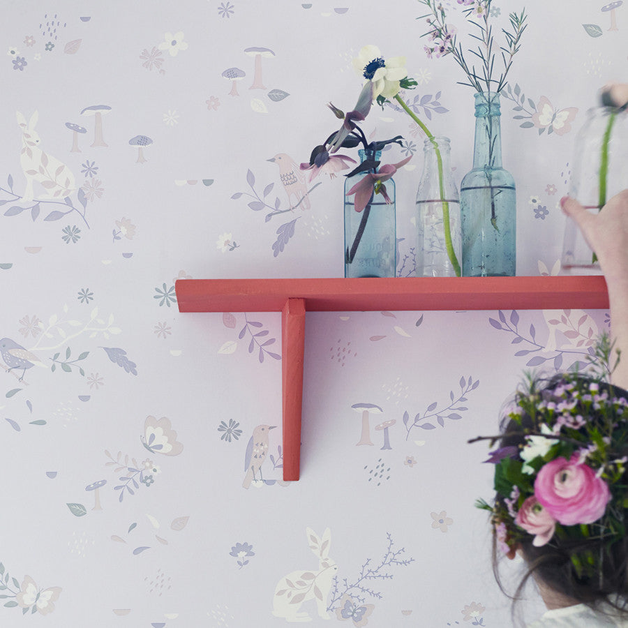Hibou Home Secret Garden wallpaper - more colours
