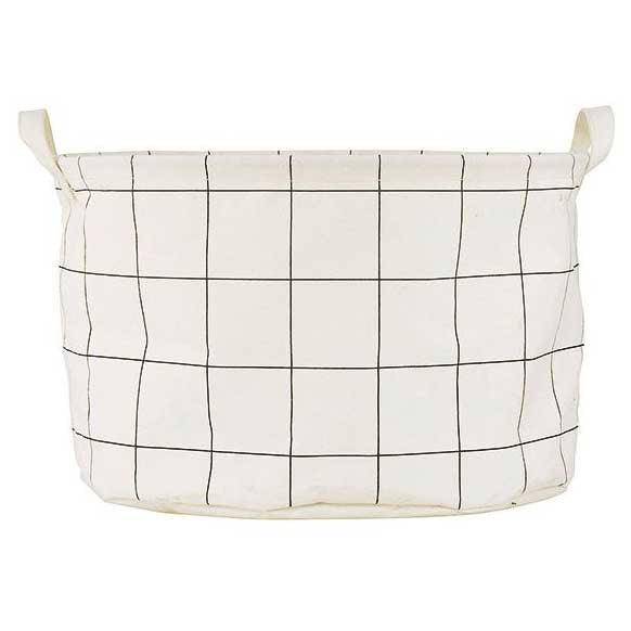 House Doctor storage tub - squares