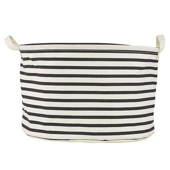 House Doctor storage tub - stripes
