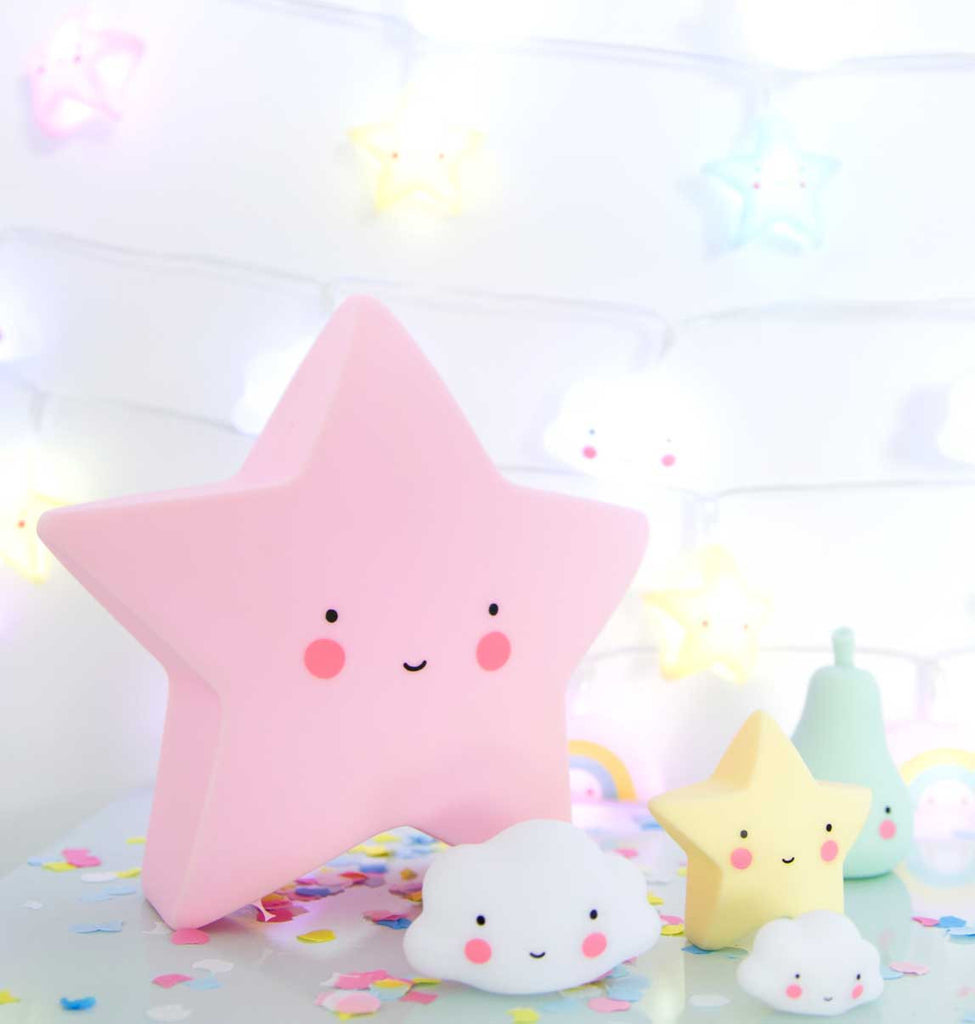 Little Lovely Company Star Light - Pink