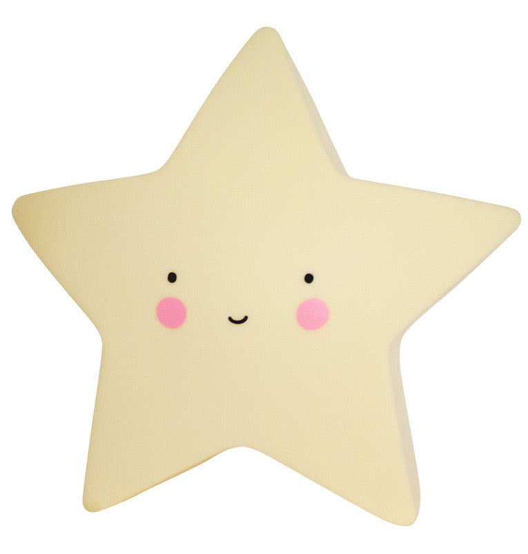 Little Lovely Company Star Light - Yellow