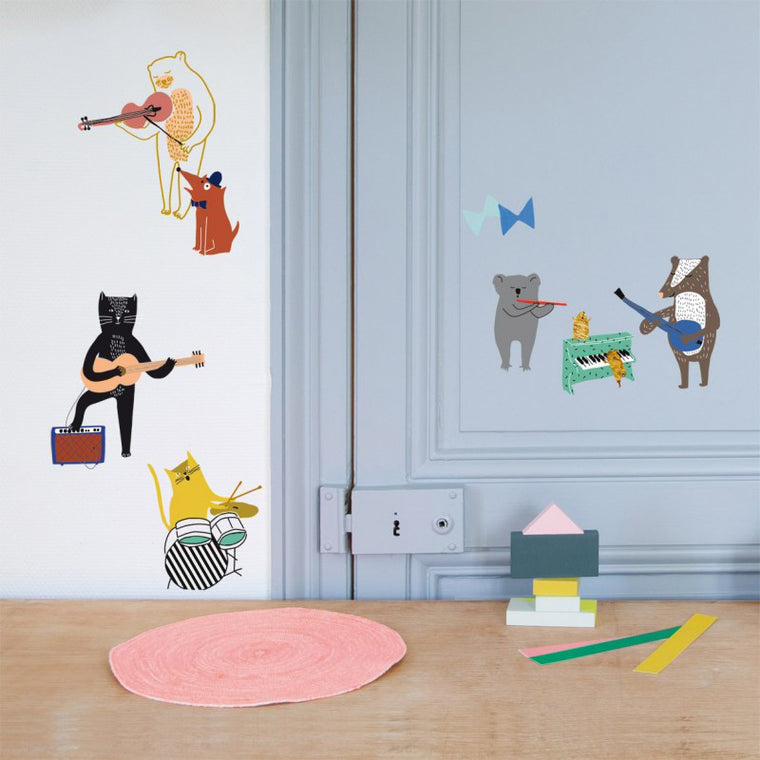 Mimi'Lou Let's Rock! Wall Stickers