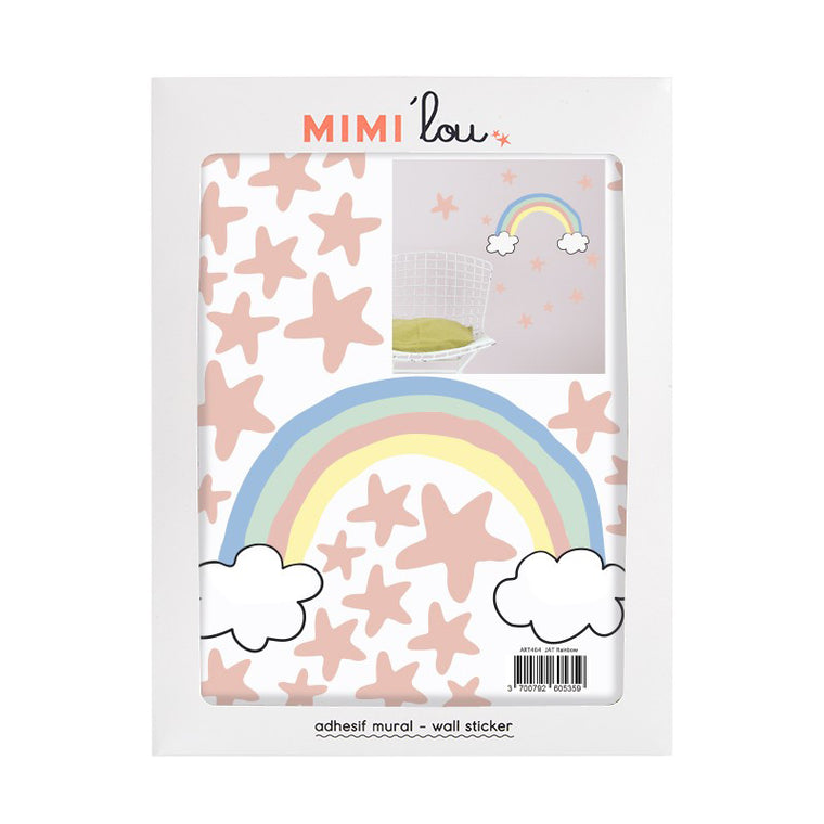 Mimi'Lou Rainbow & Stars Wall Stickers