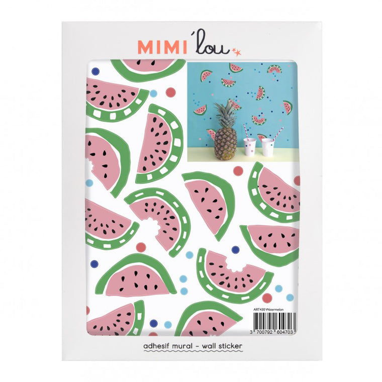 Mimi'Lou Watermelon Wall Stickers