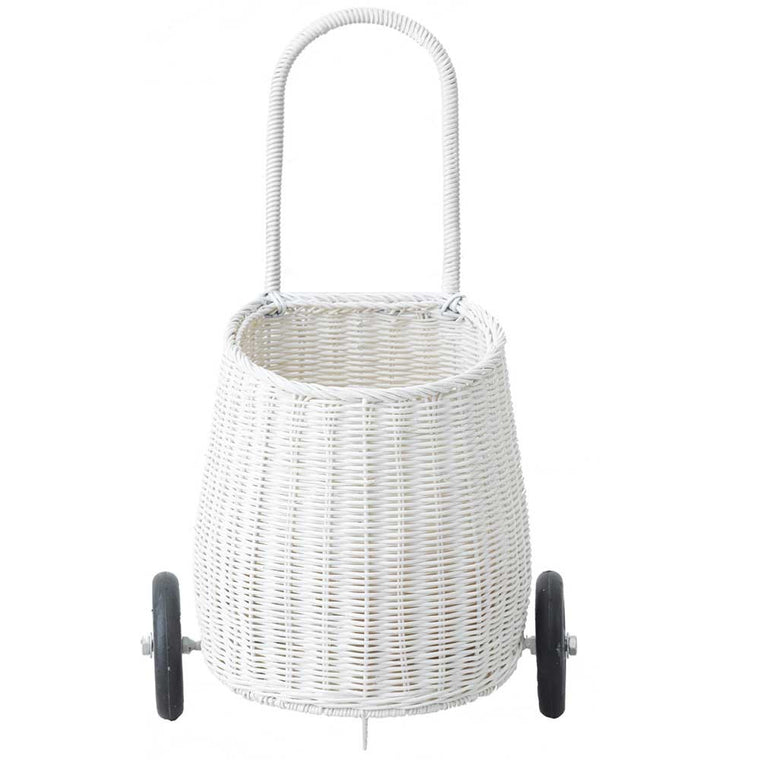 Olli Ella Luggy Basket - White