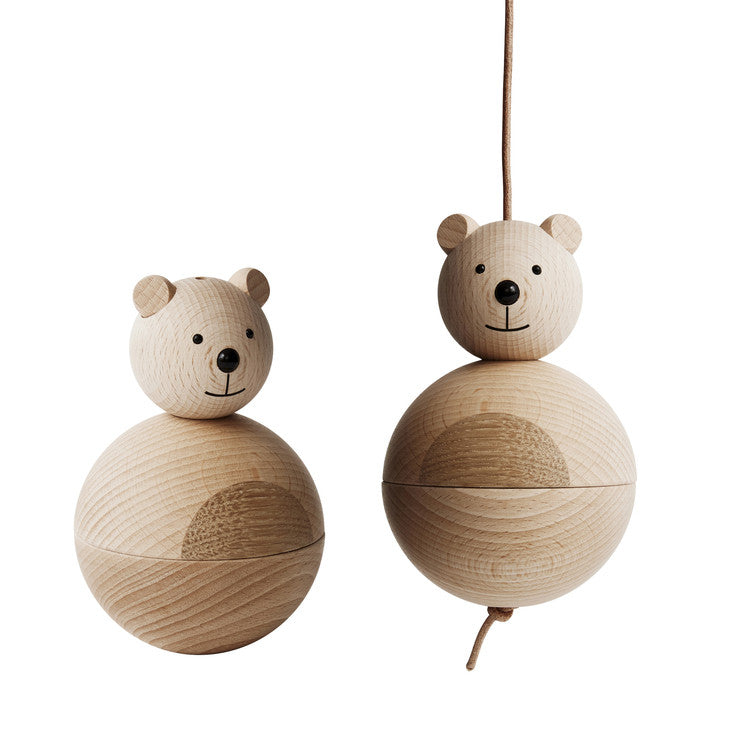 OYOY Wooden Bear Decoration / Mobile