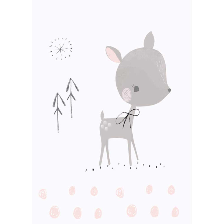 Sweet Deer Postcard