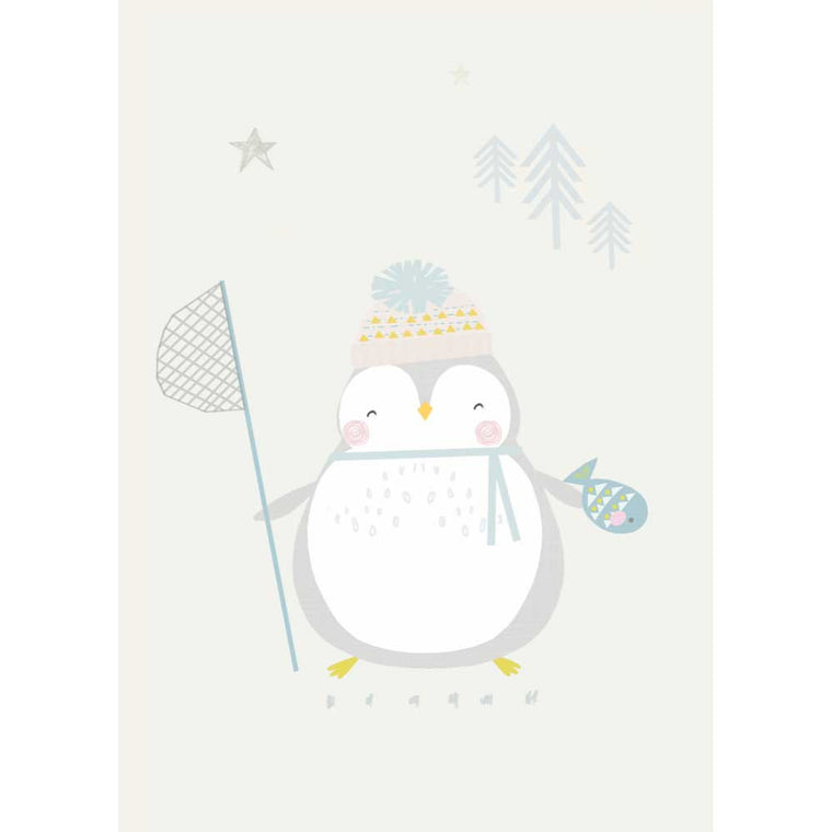 Penguin Postcard