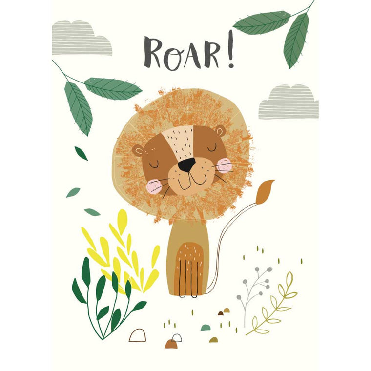 Lion Roar Postcard