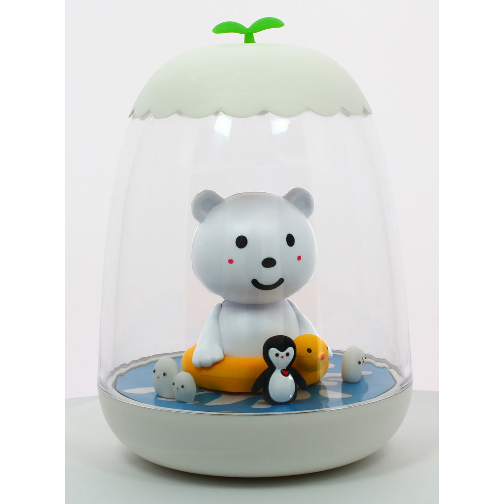 Petit Akio Night Light - Polar Bear