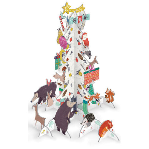 Pop & Slot 'Frosty Forest Advent Tree'