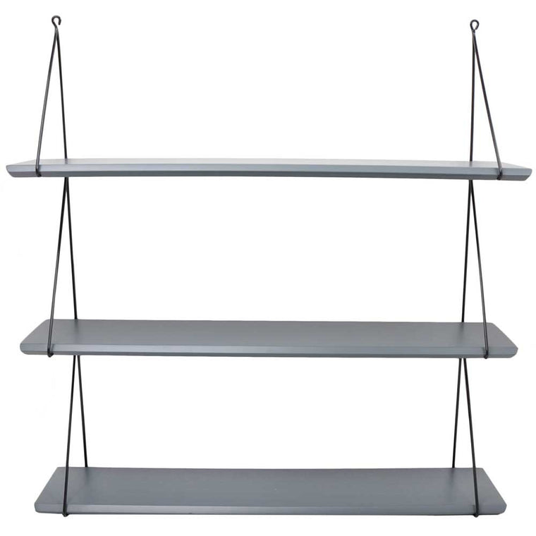 Rose in April Set of 3 'Babou' Shelves - Grey