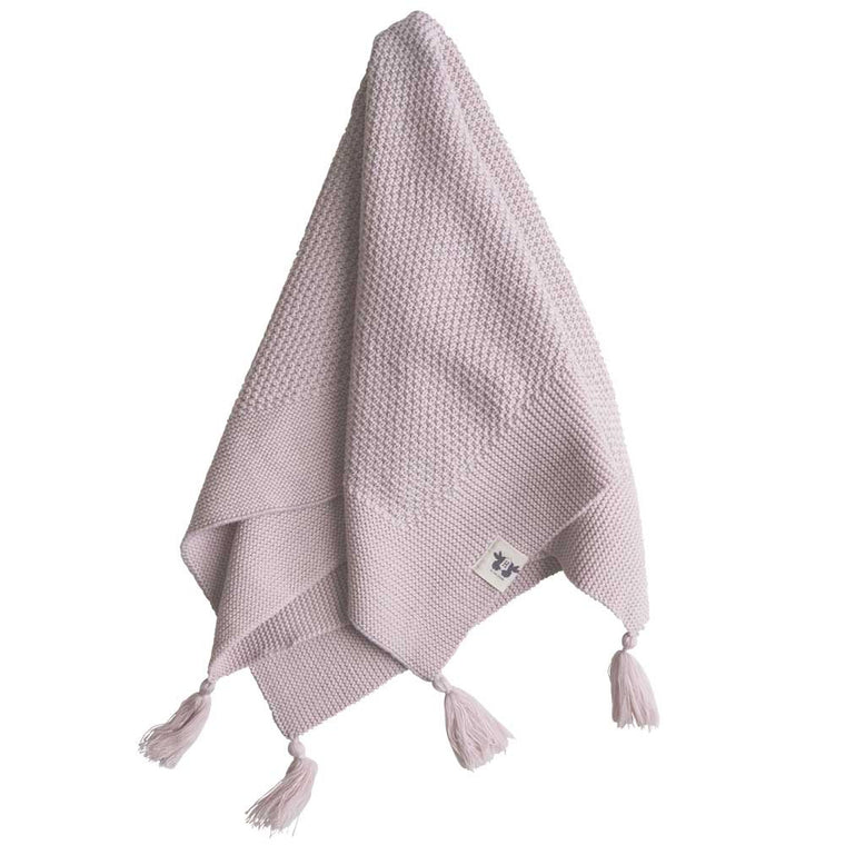 By Heritage Organic Baby Blanket - Pink