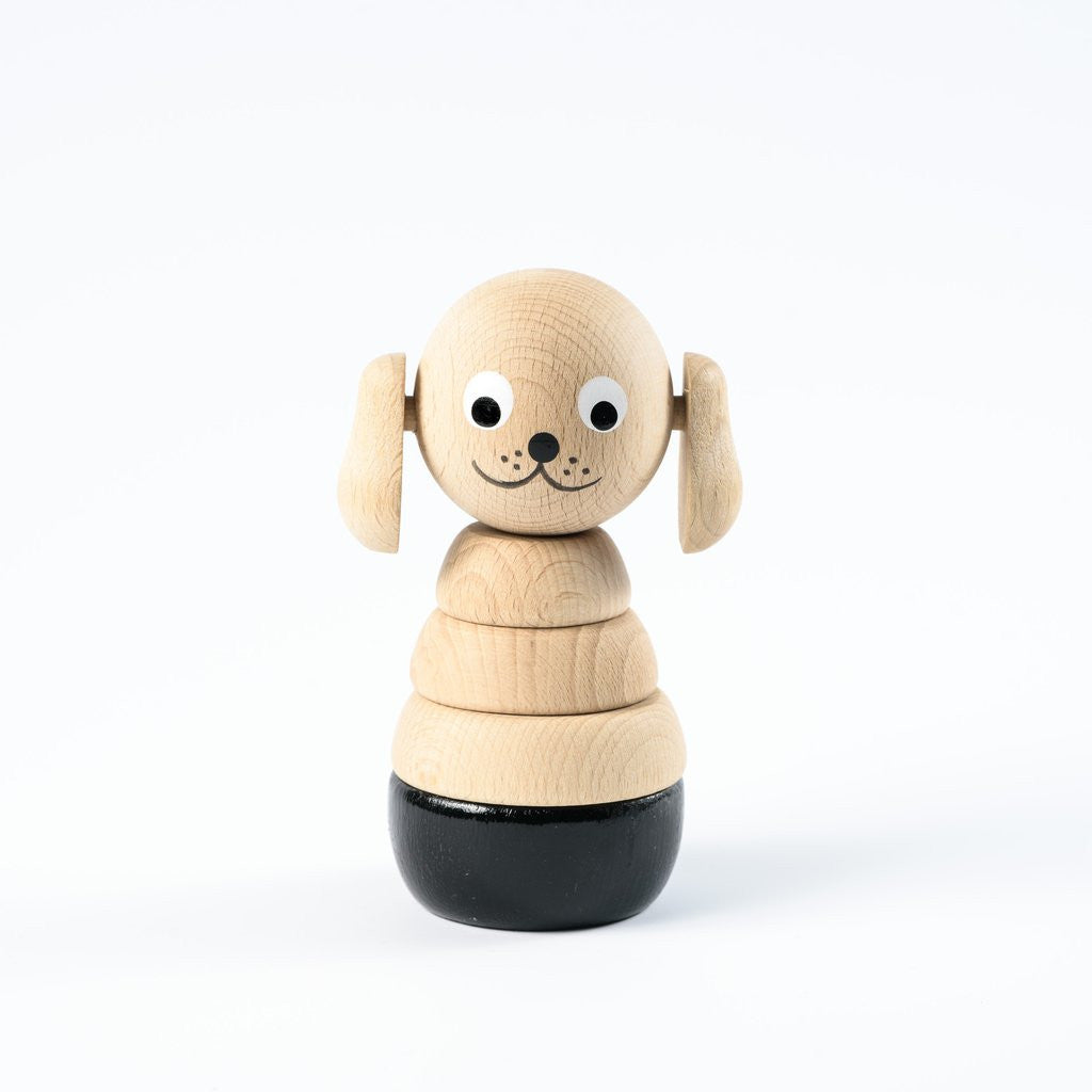 Frederick - Wooden Dog Stacking Toy