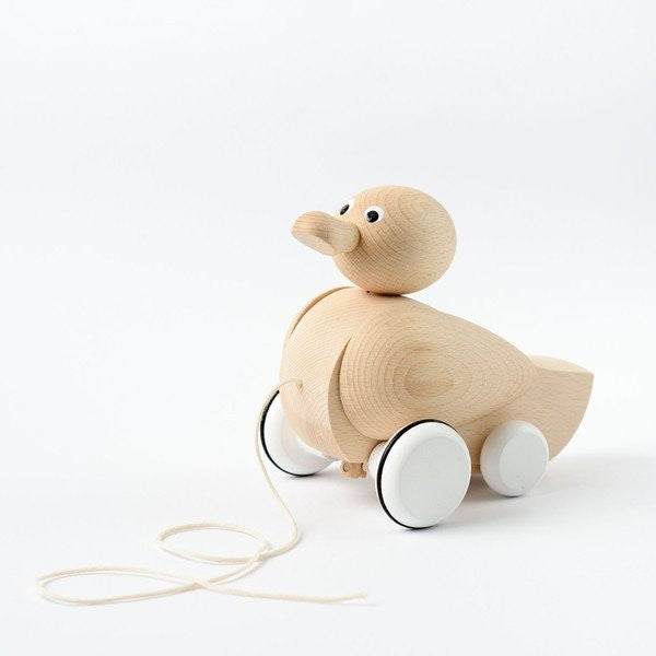 Genevieve Wooden Pull-Along Duck
