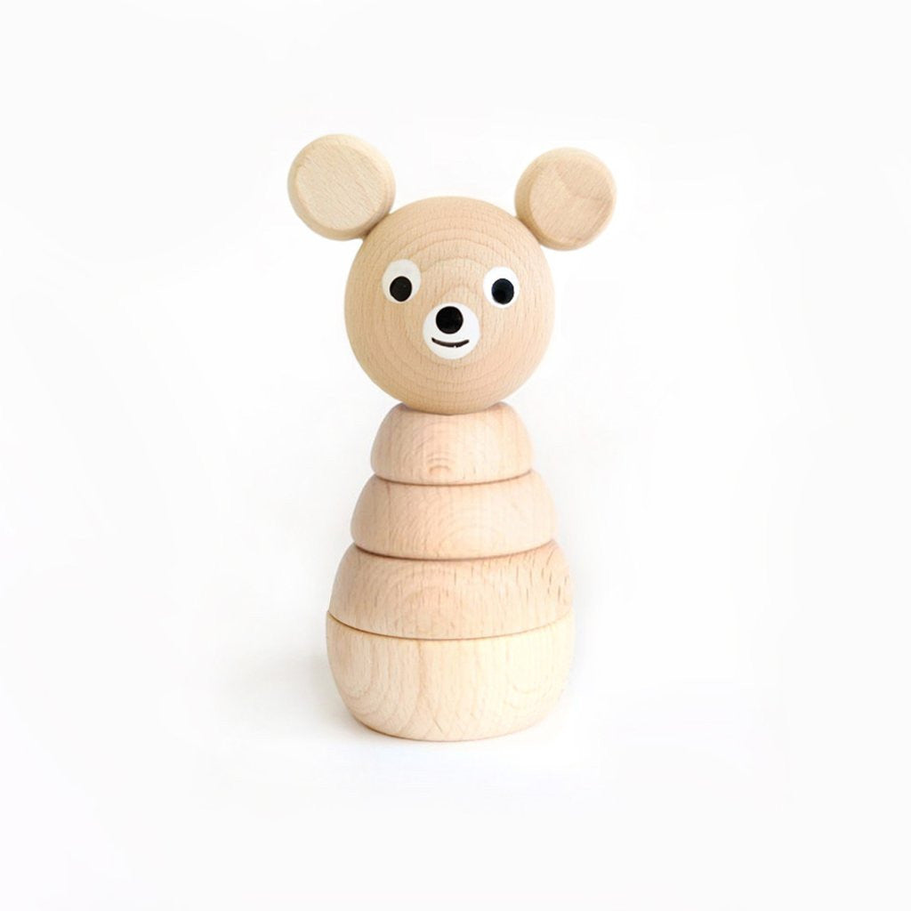 Benedict - Wooden Bear Stacking Toy