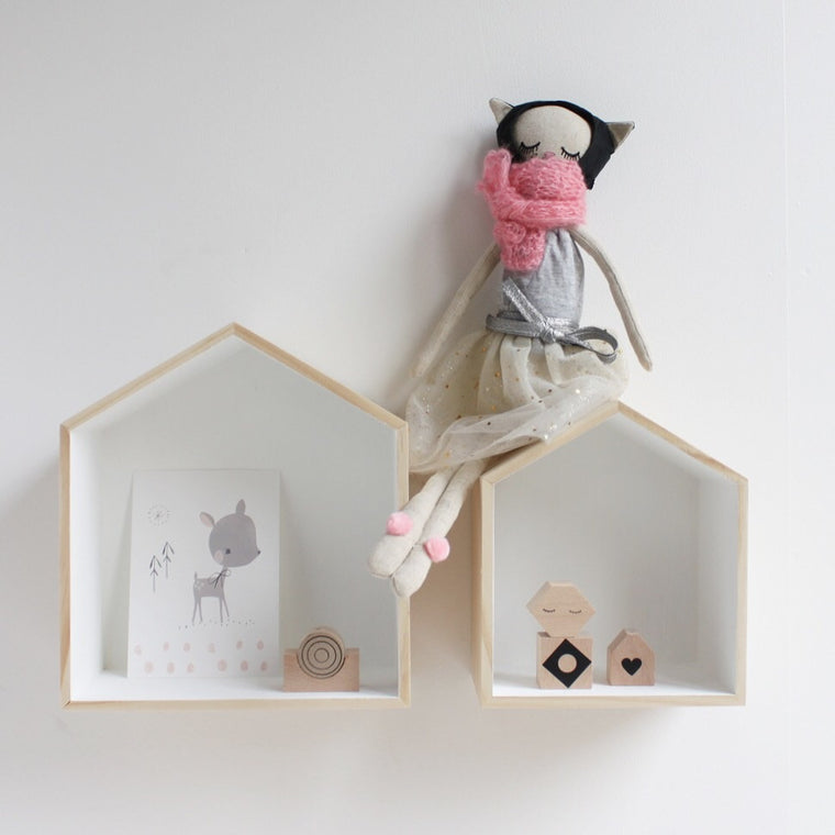 Deco Baby House Shelves - set of 2