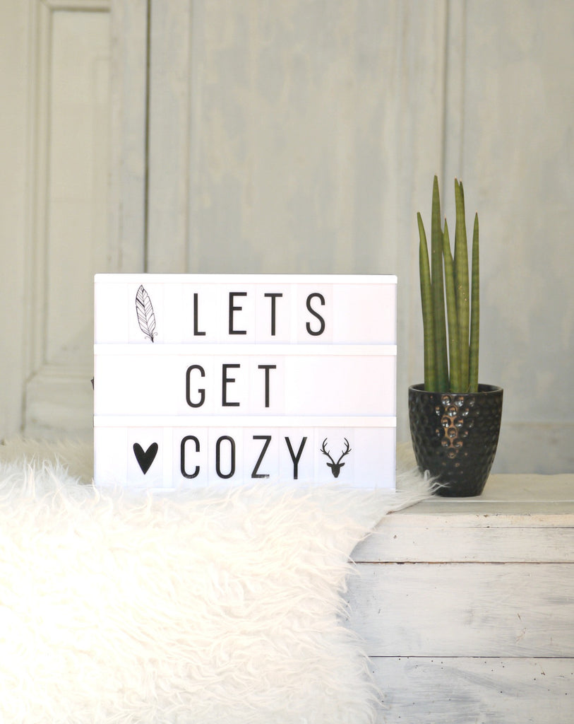 Little Lovely Company Lightbox - A4 black