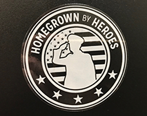 ORIGINAL HBH LOGO CAR WINDOW DECAL
